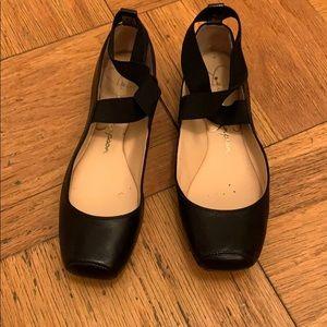 Jessica Simpson Mandalaye Black Ballet Flats 9
